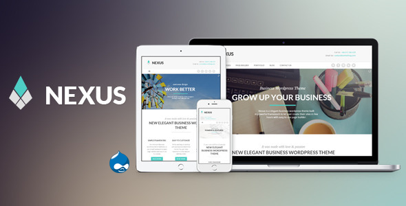Nexus - Elegant Business Drupal Theme