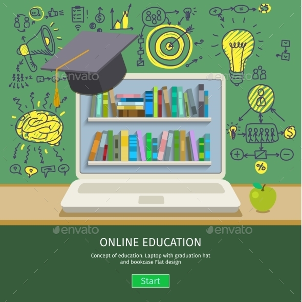 Concept Of Education.  - Computers Technology