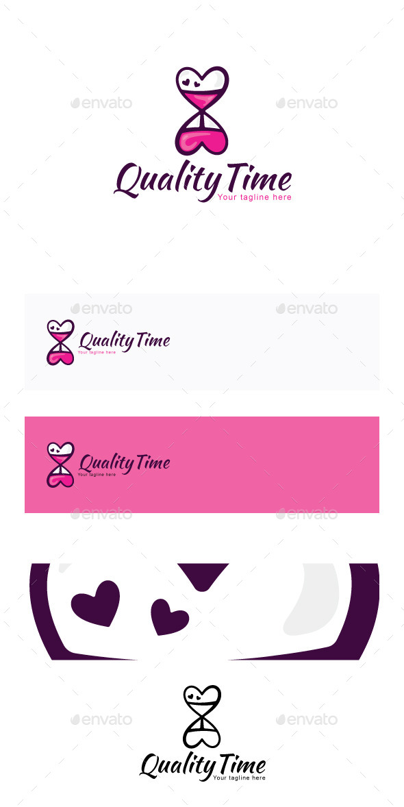 Quality Time Stock Logo Template - Symbols Logo Templates