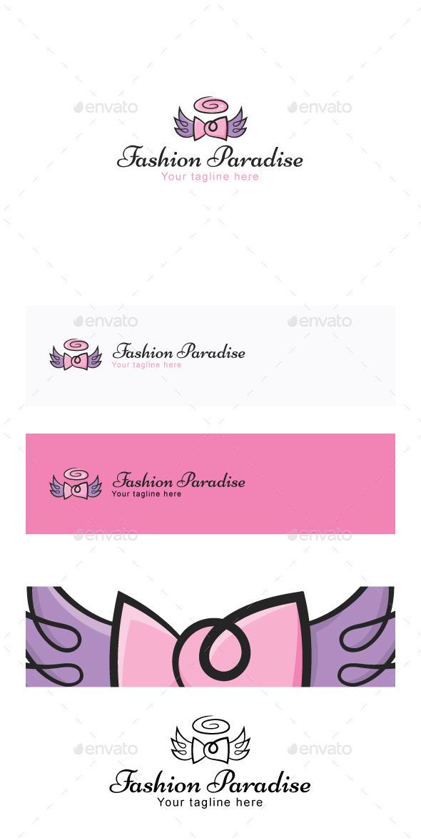 Fashion Paradise  Stock Logo Template - Symbols Logo Templates
