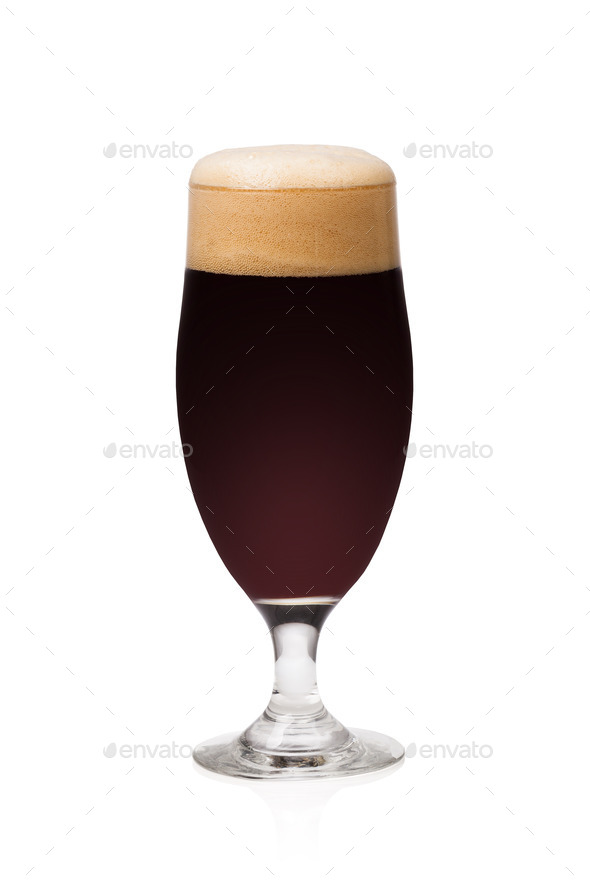 dark beer - Stock Photo - Images