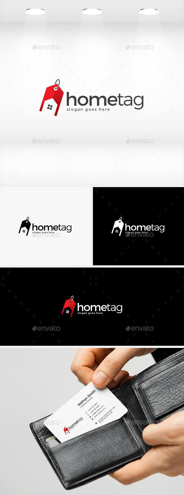 Home Tag Logo - Buildings Logo Templates