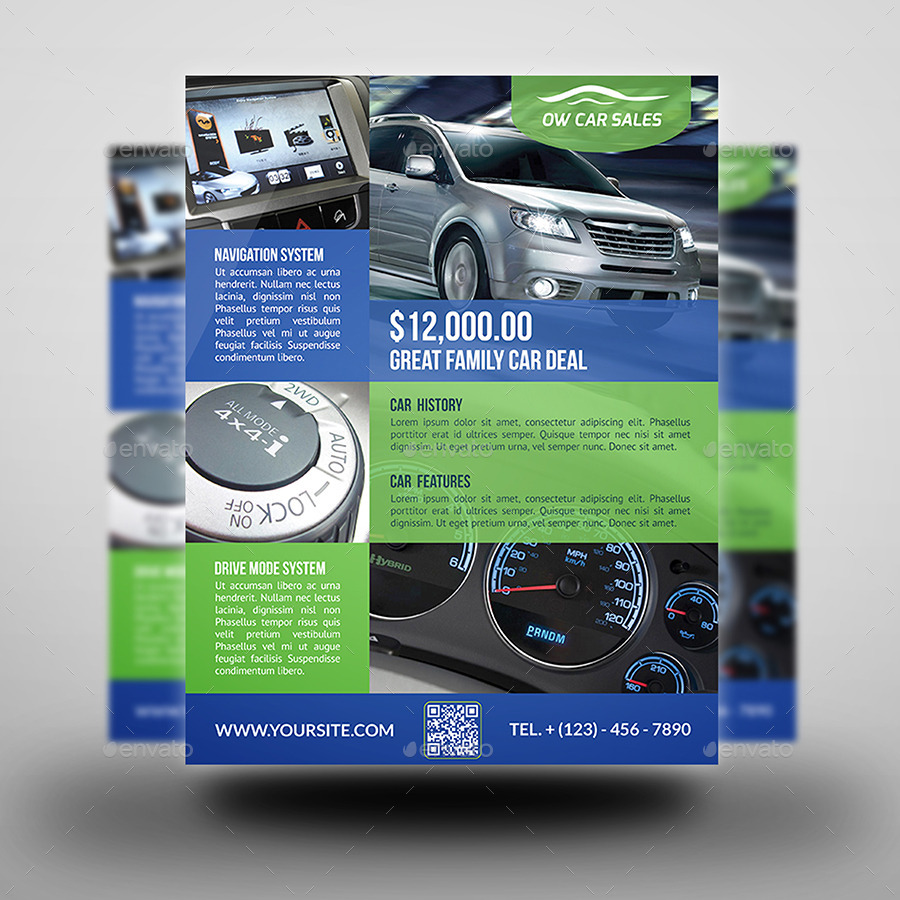 Car For Sale Flyer Template Vo.2  Car For Sale Flyer