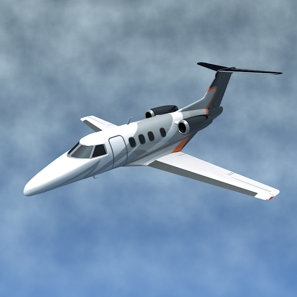 Embraer Phenom 100 private jet - 3DOcean Item for Sale
