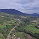 Aerial Road to the Hills - VideoHive Item for Sale