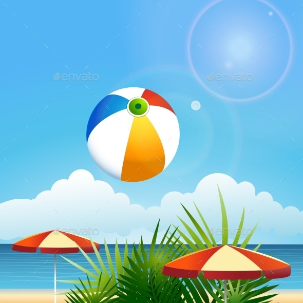 Summer Beach - Travel Conceptual