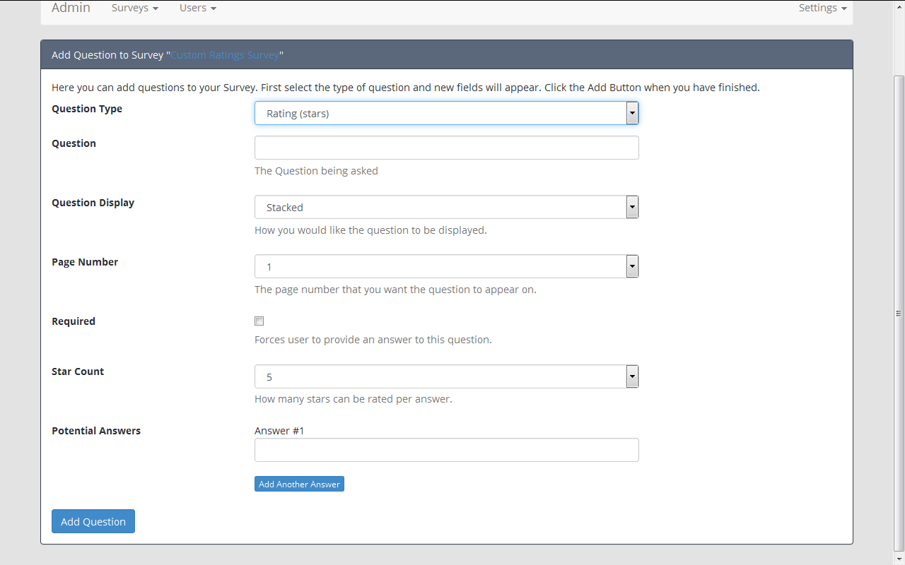 survey maker form generator by patchesoft codecanyon