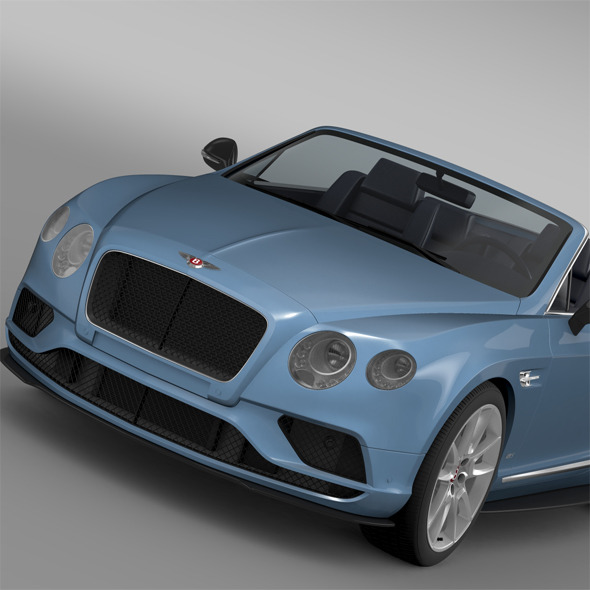 Bentley Continental GT V8 S Convertible 2015 - 3DOcean Item for Sale
