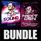 Guest DJ Party Flyer Bundle 2 - GraphicRiver Item for Sale
