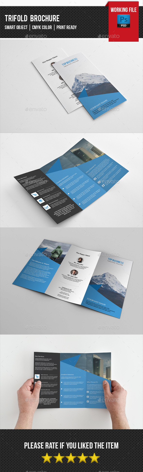 Business Trifold Brochure-V237 - Corporate Brochures