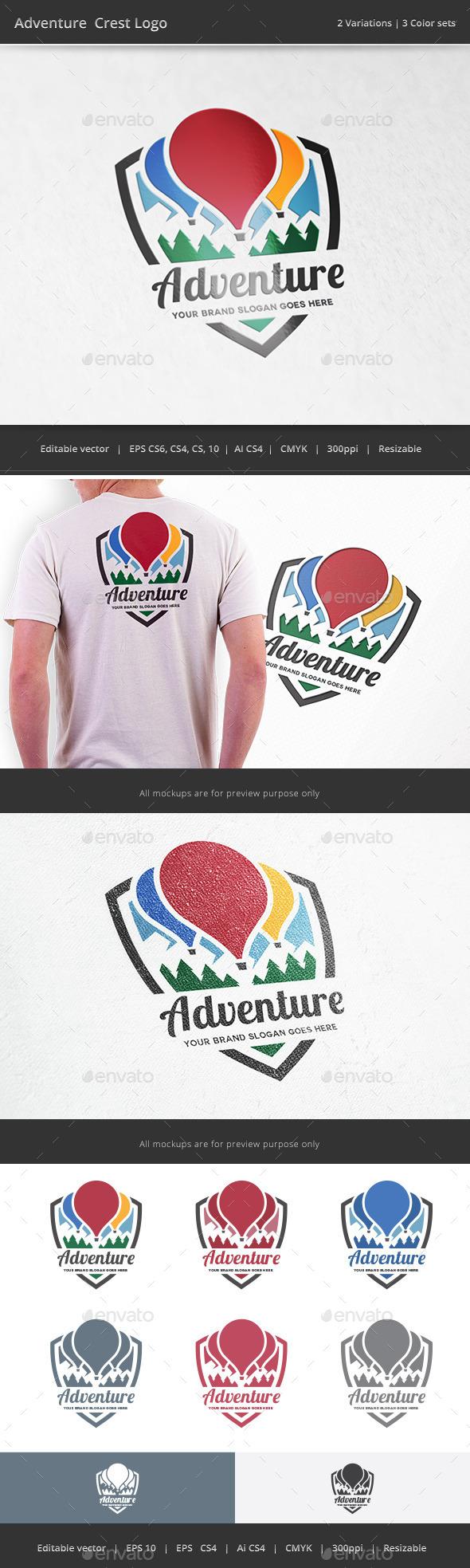 Adventure Crest Logo - Crests Logo Templates