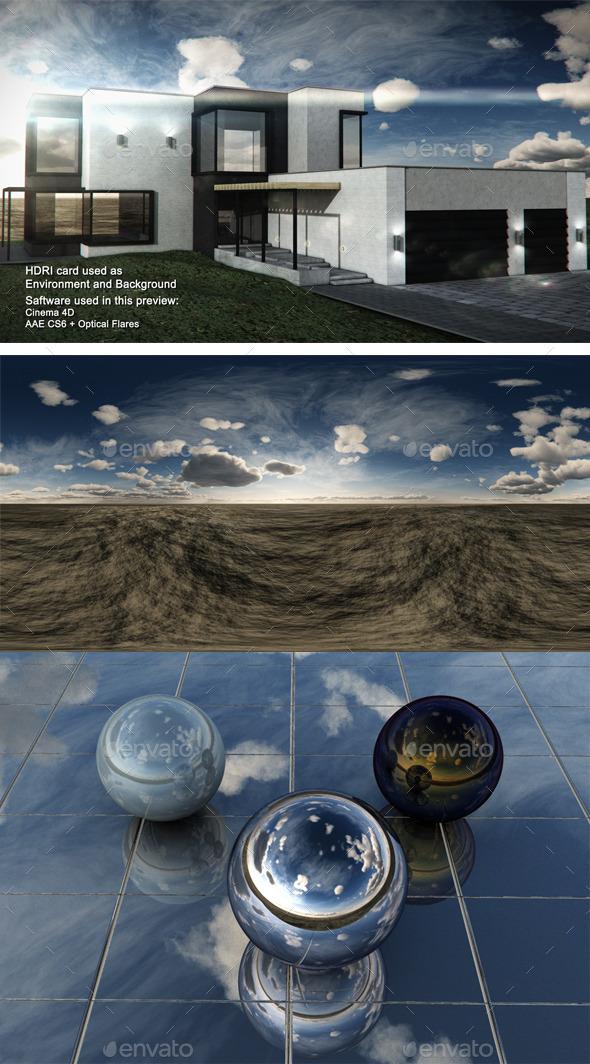 Dusk Desert 3 - 3DOcean Item for Sale