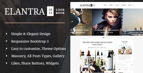 Elantra 2015 – Elegant Personal Blogging Theme