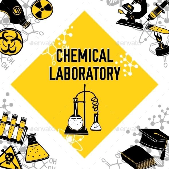 Laboratory Corner Concept - Miscellaneous Vectors