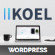 Koel - Multipurpose WordPress Layers Theme Nulled