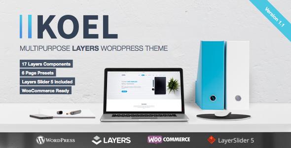 Koel – Multipurpose WordPress Layers Theme