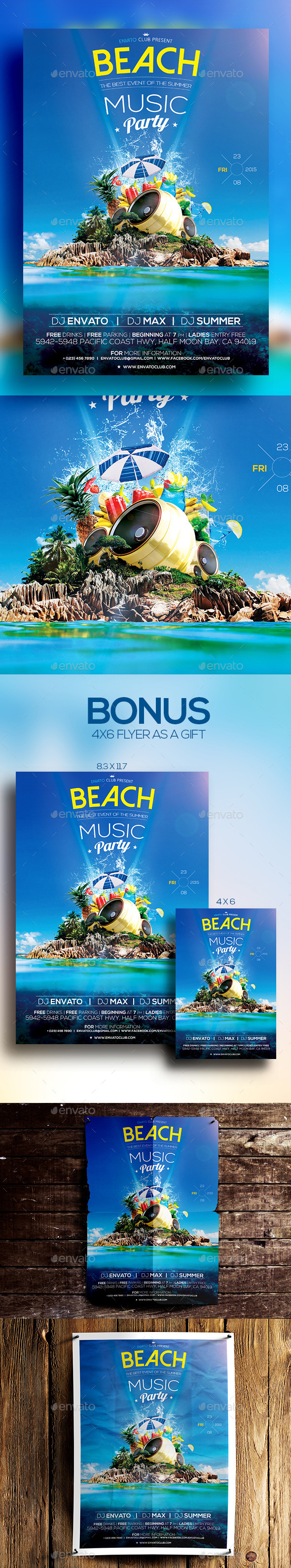 Beach Music Party Vol.3 - Clubs & Parties Events
