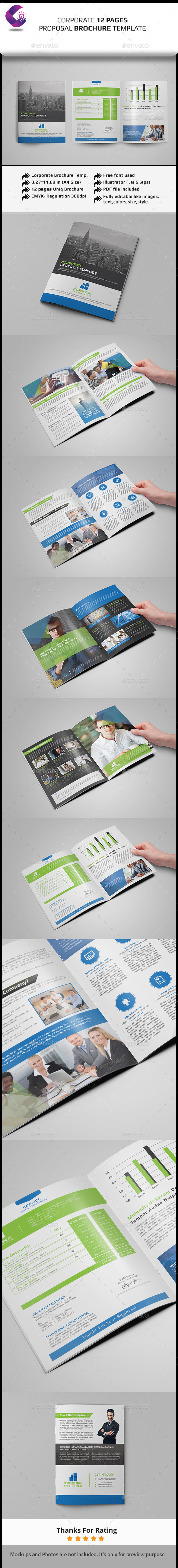 Corporate Brochure Template- Multipurpose - Corporate Brochures