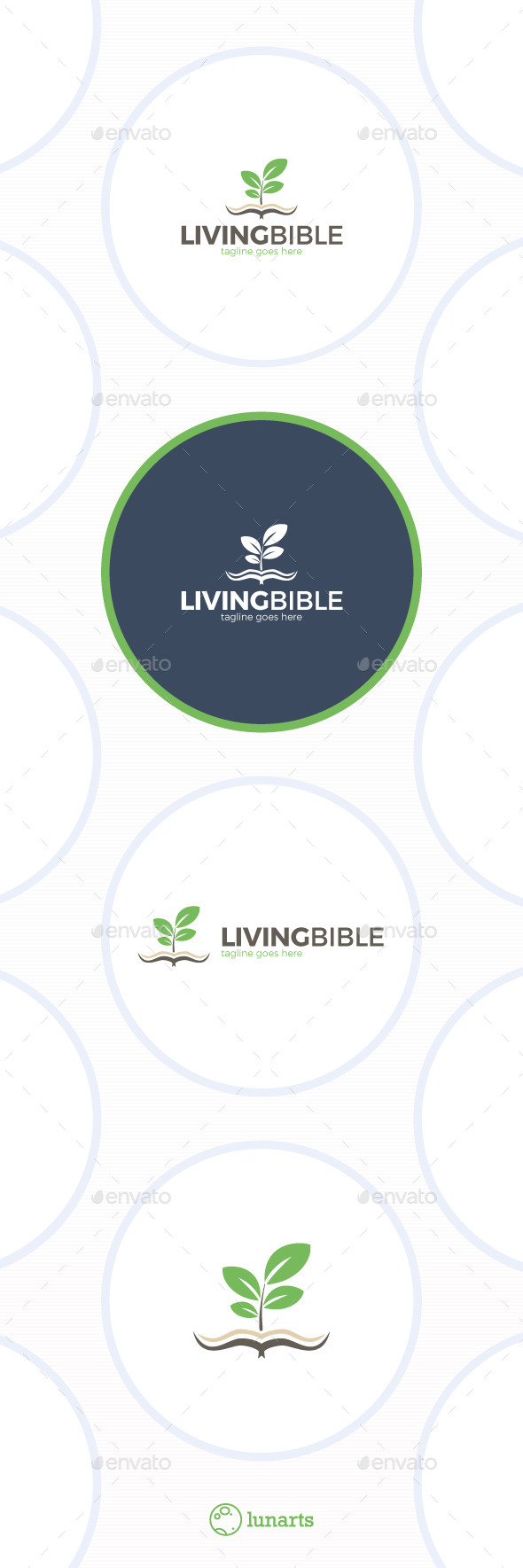 Living Bible Logo - Symbols Logo Templates