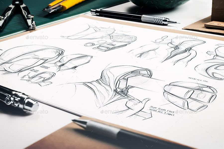Sketchbook Mock-Up / Artists Edition