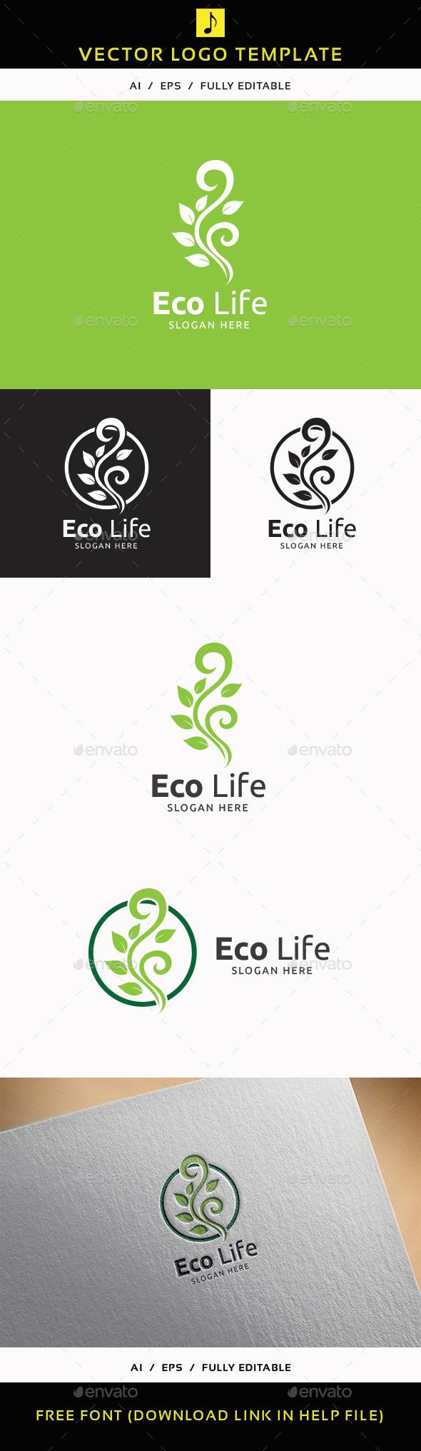 Eco Life V.2 - Nature Logo Templates