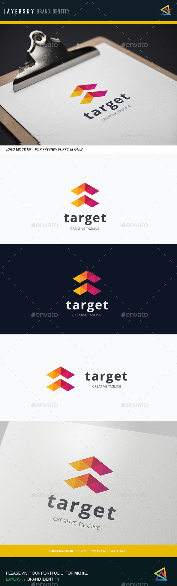 Target  - Abstract Logo Templates