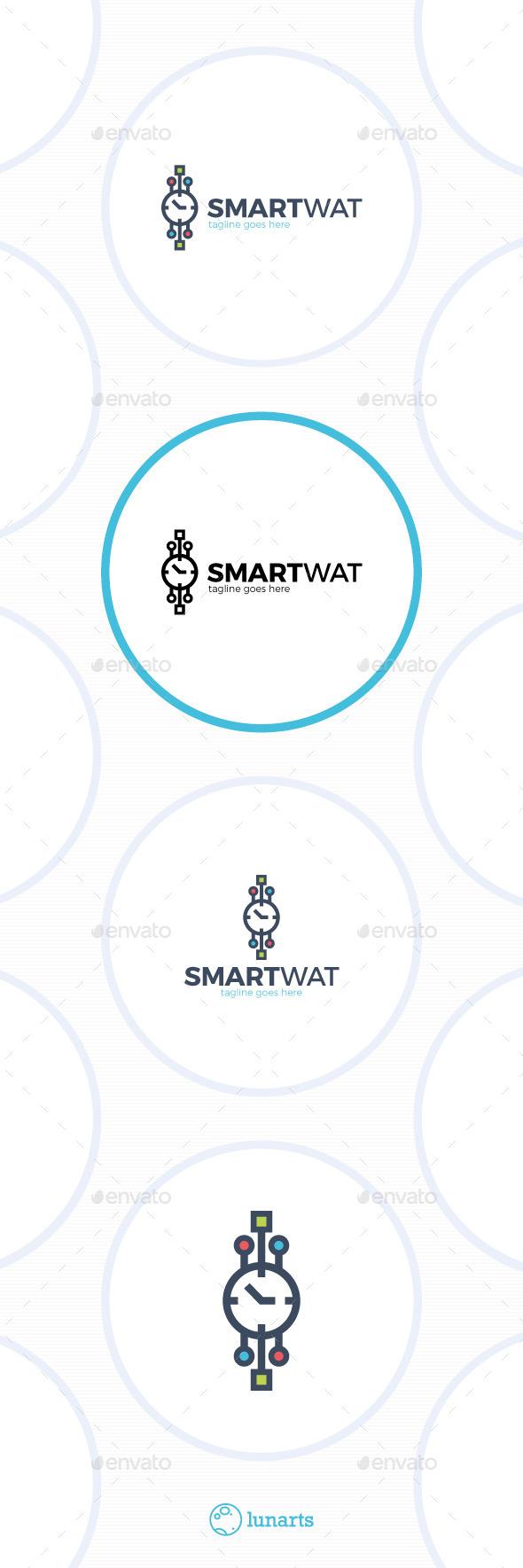 Smart Watch Logo - Symbols Logo Templates