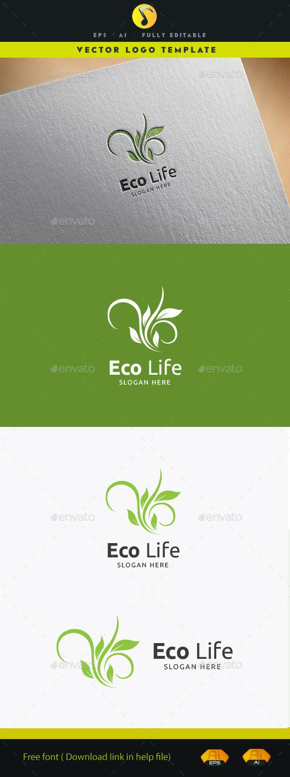 Eco Life V.3 - Nature Logo Templates