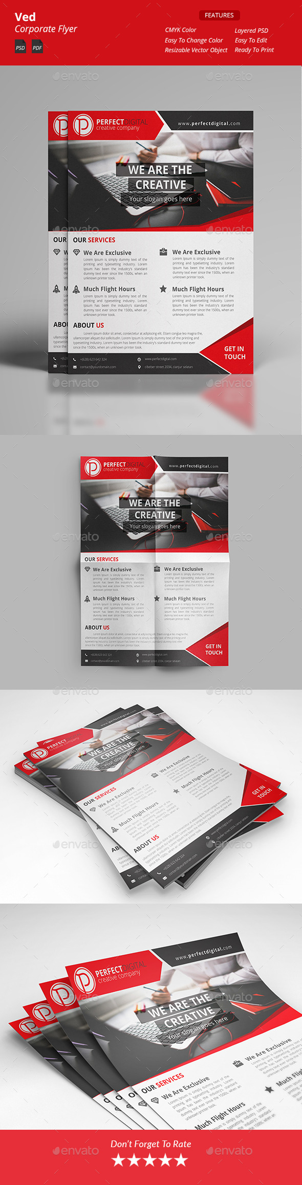 Ved - Corporate Flyers - Corporate Flyers