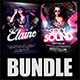 Guest DJ Party Flyer Bundle 3 - GraphicRiver Item for Sale