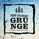 1080 Vintage Grunge Logo Variations - GraphicRiver Item for Sale