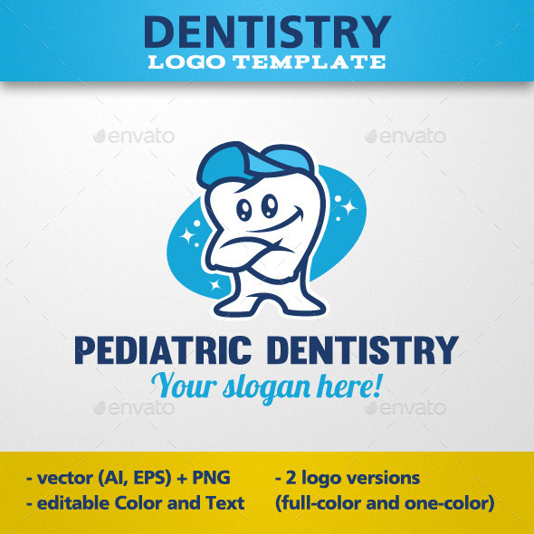 Pediatric Dentistry Logo Template - Objects Logo Templates