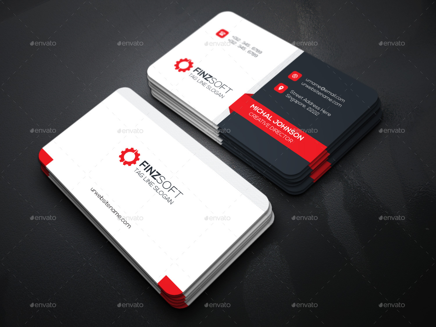 Technology Business Card Templates Image collections - Business ...