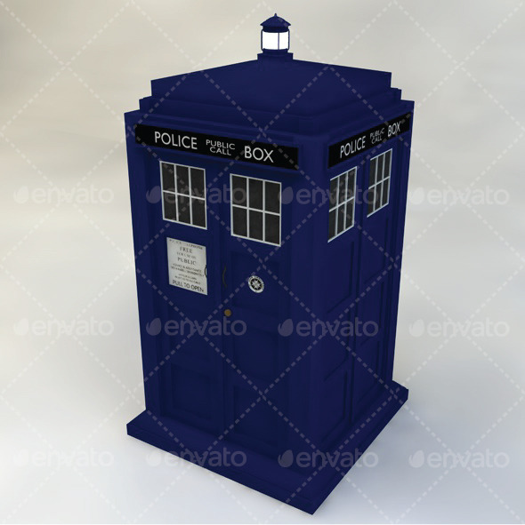 Tardis - 3DOcean Item for Sale