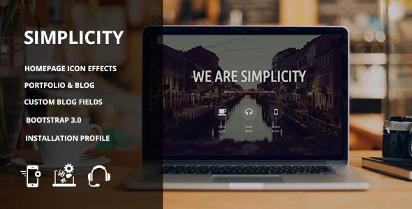 Simplicity – Responsive Drupal 7 theme