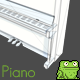 Classic Upright Piano - 3DOcean Item for Sale