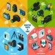 Isometric Photo Video Set - GraphicRiver Item for Sale