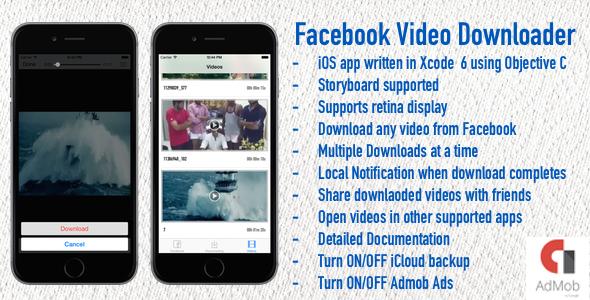 Facebook Video Downloader - CodeCanyon Item for Sale