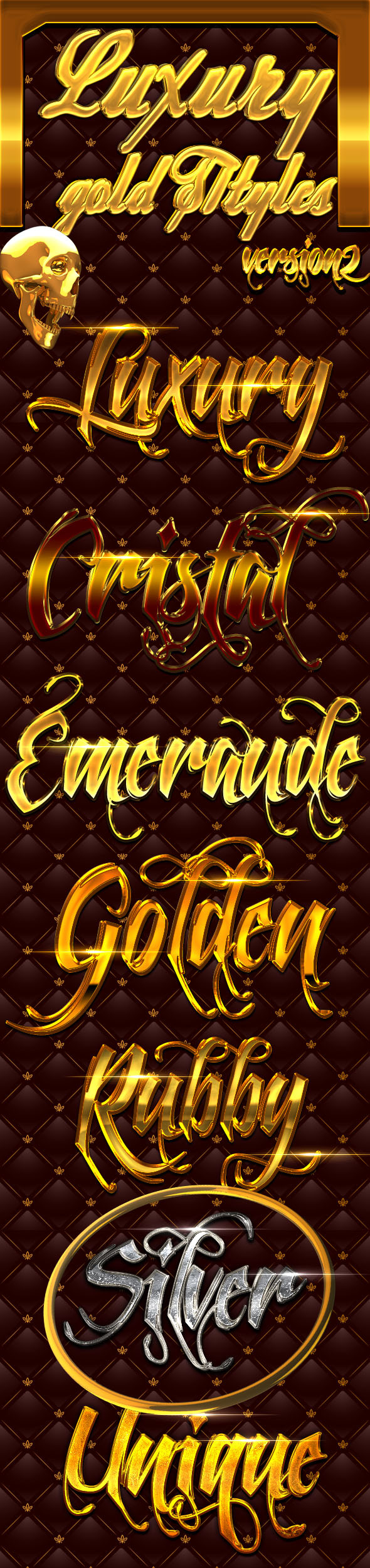 Gold Luxury Styles 2 - Text Effects Styles