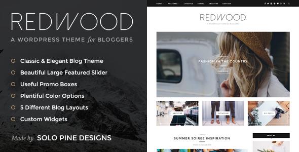 Redwood - A Responsive WordPress Blog Theme