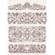Set Vintage Ornate Borders. - GraphicRiver Item for Sale