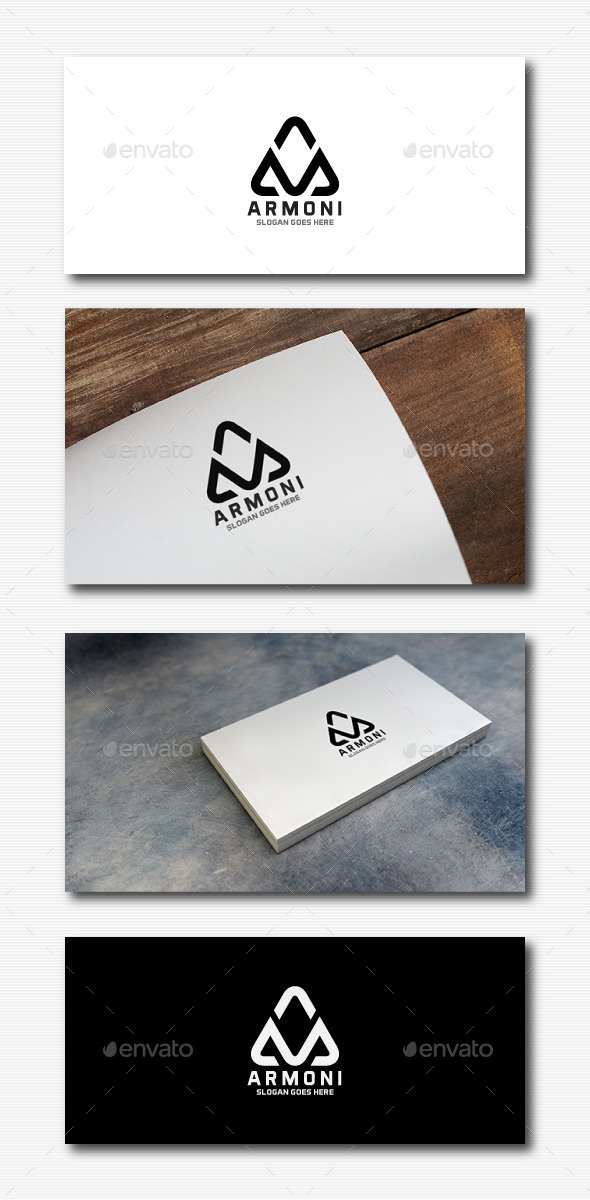 Stylish Letter A Logo - Letters Logo Templates