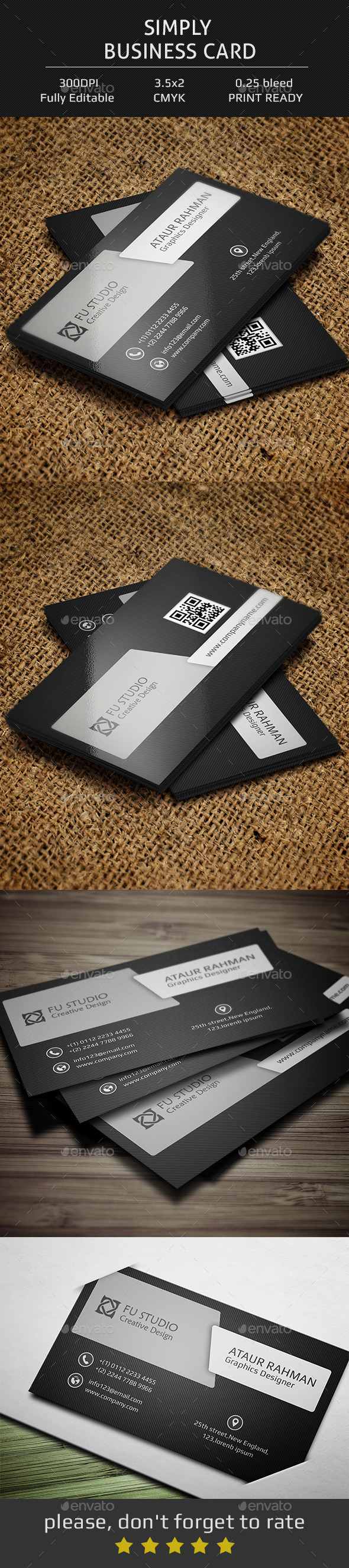 Simply Business Card - Corporate Business Cards