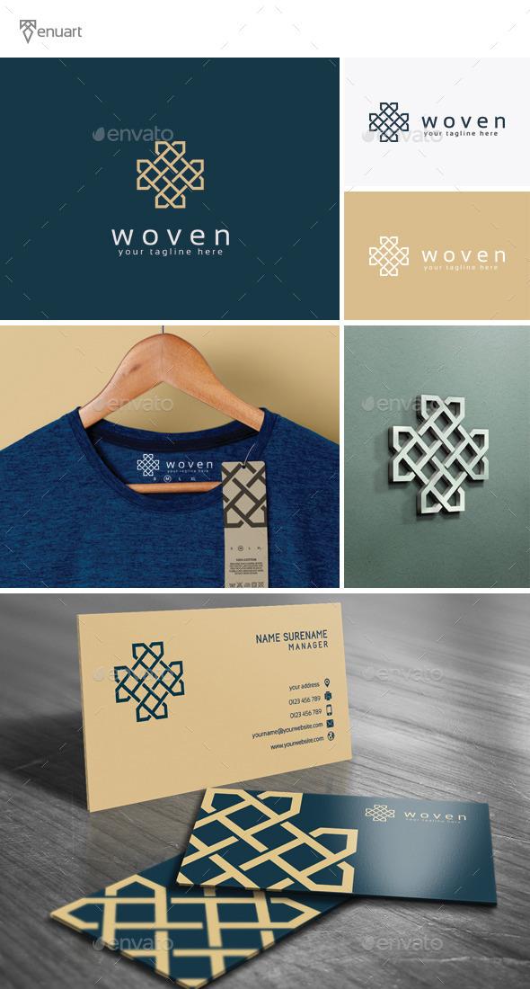 Woven Logo - Abstract Logo Templates
