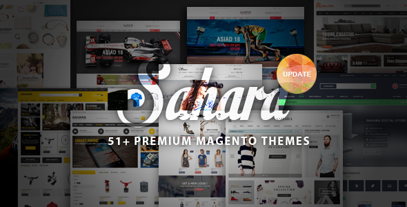 SAHARA – Ultimate Responsive Magento Themes