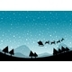 Silhouette Christmas - GraphicRiver Item for Sale