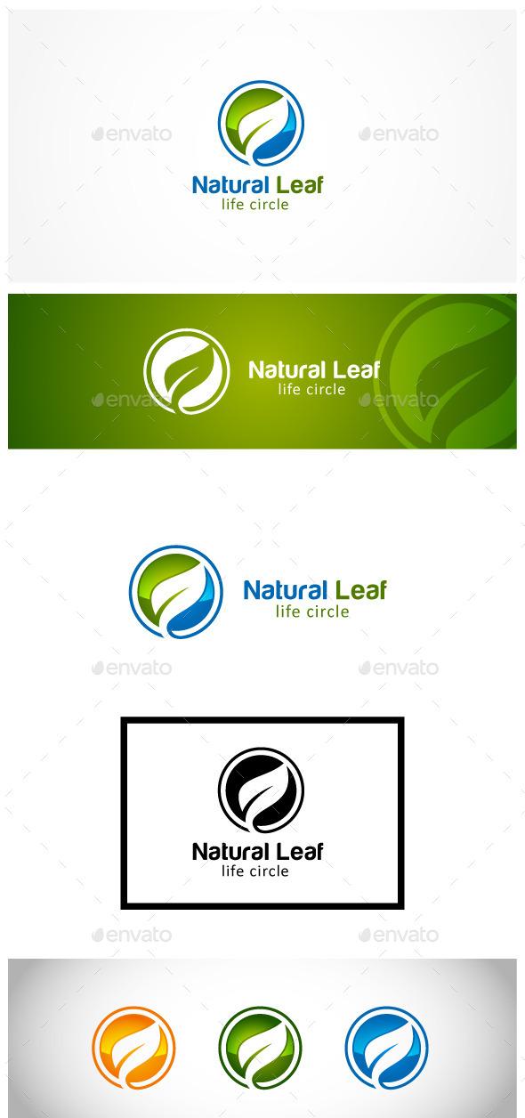 Natural Leaf - Nature Logo Templates