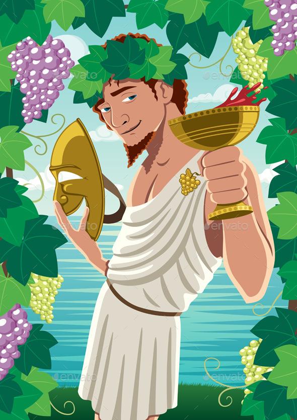 Dionysus - Characters Vectors