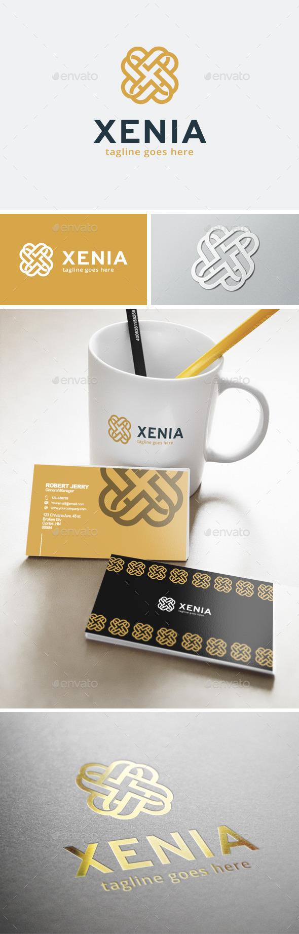 Xenia Logo - Abstract Logo Templates
