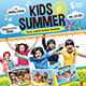 Kids Summer Camp Flyers / M-Graphicriver中文最全的素材分享平台